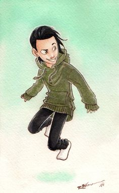 Kid Loki by CaptBexx