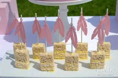 springtime-boho-baby-shower-rice-krispy-treats