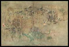 map of Encantadia Pocket Edition, Vintage World Maps, Games, Gaming, Plays, Game, Toys