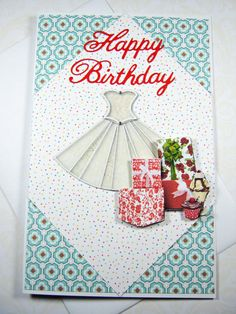Happy Birthday Wishes for her 3D birthday card by littledebskis