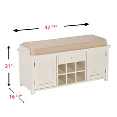 Shop Boston Loft Furnishings Farrell Shoe Storage Bench At Loweu0027s Canada.  Find Our Selection Of Benches At The Lowest Price Guaranteed With Price  Match + ...