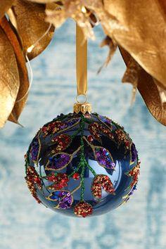 Unique Christmas Ornaments, Felt Christmas Decorations, Handmade Christmas, Christmas Stockings, Christmas Crafts, Glass Ornaments, Beaded Ornaments, Handmade Ornaments, Christmas Images