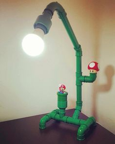 Luminária Mario Bross Foto reprodução