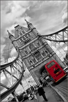 Tower Bridge, London, England.