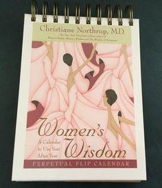 Christiane Northrup Womens Wisdom Health Advice Perpetual Flip Calendar in Books, Magazines, Accessories, Gift Books, Calendars (current)   eBay!