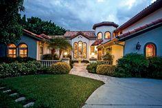 mediterranean house pictures | Mediterranean Estate, South Tampa FL « LuxuryHomeMagazineBlog