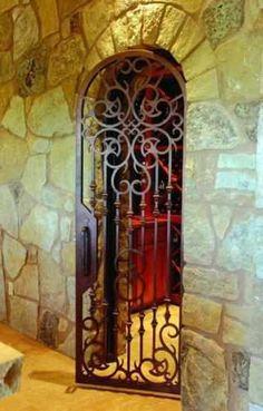 Courtyard Gate Handtrail-58 - Wrought Iron Doors, Windows, Gates, & Railings from Cantera Doors