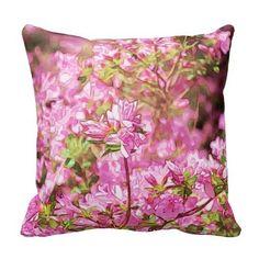 Vibrant Azelias Throw Pillows (http://www.zazzle.com/vibrant_azaleas-189376699456244387?rf=238581717104918999) (https://www.facebook.com/hawcreek)