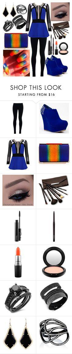 """Outfit #154"" by sofi6277 on Polyvore featuring NIKE, Bamboo, Posh Girl, Christian Louboutin, Borghese, MAC Cosmetics, Swarovski, Kendra Scott and Repossi"