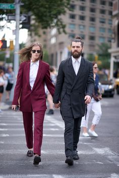 Fashion Week: Ashley and Sam
