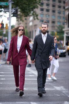 Fashion Week: Ashley and Sam