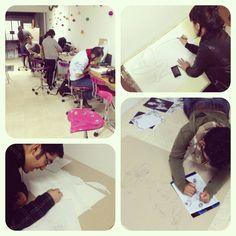 Estudiantes en prácticas de #Ilustración