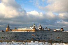 Соловецкий монастырь Белое море