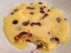olles *Himmelsglitzerdings* Küche und mehr: Cookie Dough oder wie gut schmeckt ein Mikrowellenkeks...