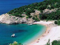 Playa de San Iván, Isla de Cres, Croacia