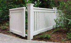 Garden Gate Side Gate OHLAND - Iroko wood qhite painted 25 years warranty