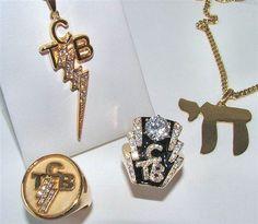 ELVIS' JEWELRY: Elvis's TCB jewelry