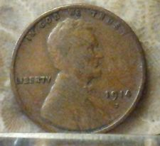 1914-D 1C BN Lincoln Cent