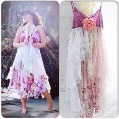 Stevie Nicks Style Velvet Gypsy Dress 24 by TrueRebelClothing