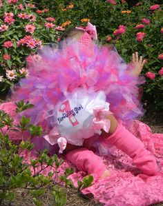 Baby Girl--1st Birthday Diaper Cover Bloomers-- Made To Match Any Of Our Birthday Tutu Sets. $18.00, via Etsy.