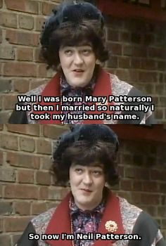 Bit of Fry and Laurie British Humor, British Comedy, Blackadder Quotes, Funny Cartoon Memes, Darwin Awards, Welsh, Comedy Tv Shows, Dark Humour Memes, Silly Me