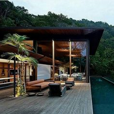 """World Of Properties on Instagram: """"AMB Residence by Bernards & Jacobsen Arquitecture located in Guaruja, Brazil. Picture via @uppestclass"""""""