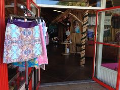We are Open at 11th Loop in Hilo Hawaii - #graphictextiledesign