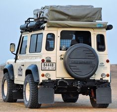 Land Rover (Series & Defenders) and more stuff I like. Off Road Camping, Camping Glamping, Defender 90, Land Rover Defender, Adventure Car, Jeep Suv, Bug Out Vehicle, Classic Motors, Best 4x4