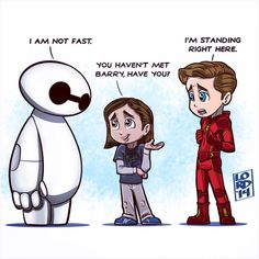 He runs slow even for a normal person. :) #TheFlash