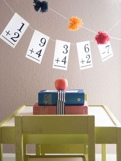Great Garland! Confetti Sunshine: Back to School : Decorations