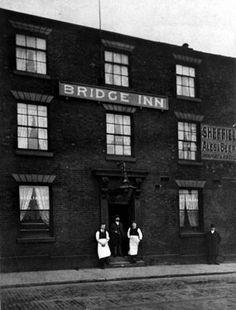 Bridge Inn, No London Road, Heeley Sheffield Pubs, Sources Of Iron, Pub Interior, Pub Signs, Derbyshire, Great Britain, Old Photos, Bridge, London