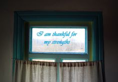 """I am thankful for my strengths. An Affirmation from my book """" She Said"""""""