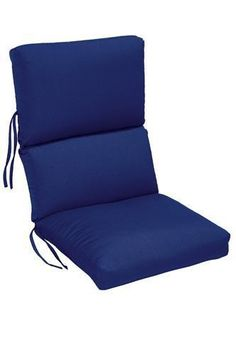 home decorators outdoor high back chair cushion