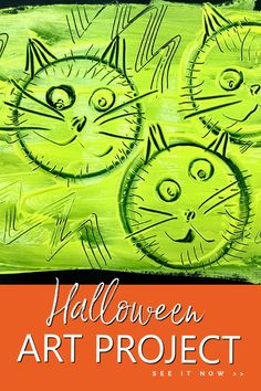 Flip the painting process with this creative Halloween art project idea for kids. All you need is paint, paper, and your choice of household items to make prints. Great art project for kids of all ages.