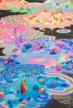Australian artist pip & pop (aka Tanya Shultz)... - Exhibition-ism
