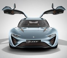 Salt water-powered electric car approved for roads in Europe. Nanoflowcell Quant e-Sportlimousine runs on saltwater