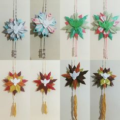Mandala Divino Espírito Santo #origami #isaklein #proteção