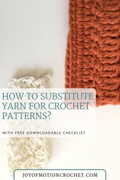 How to substitute yarn. Yarn substitution tips. FREE crochet tutorial. Substitute yarn free crochet. Substitute yarn crochet projects.  #yarnsubstitution #substituteyarn #yarn #crochet #freecrochettutorial