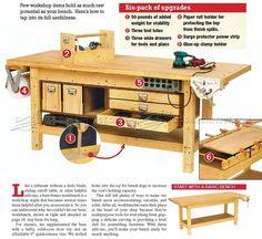 #2994 Rock-Solid Workbench Plans - Workshop Solutions