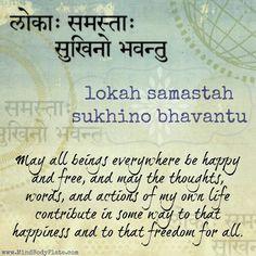 @solitalo  Hoy le presento un mantra muy importante, pues nos conecta con todo, con todos, de tal forma que somos parte de Gaia y de todos los seres. Particularmente en estos tiempos donde la paz …