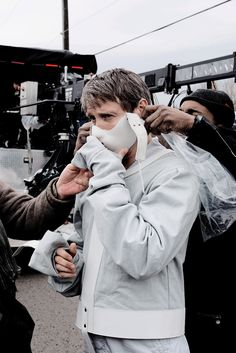 epiclivwell: Hannibal 3x13 behind the scenes (x)