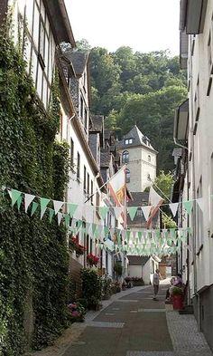 St Goar, Middle Rhine, Germany