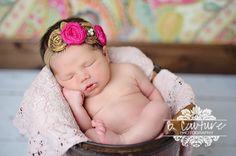 Cute little newborn pose :)