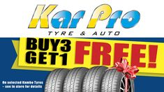 At Karpro we distribute a wide range of the finest brands, and we recommend tyres by Cooper Tyres.
