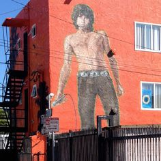 Jim Morrison Mural Venice Beach