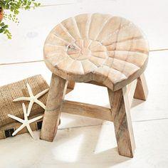 seashell stool
