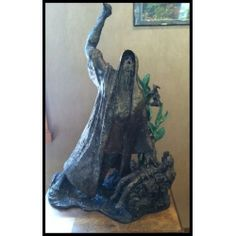Alfred Tibor Sculpture Abraham and Isaac, Bronze. Available at Argo & Lehne Jewelers.