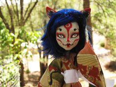 CUSTOM Monster High Repaint Kitsune Clawdeen