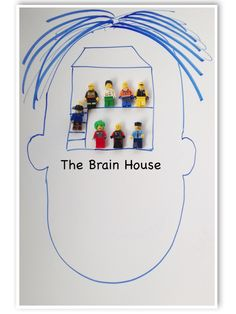 The Brain House  - wonderful idea on teaching kids how brain works and how to control emotions
