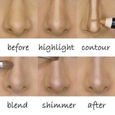 #rp The concept of contouring is genius!!  #contour #highlight #inspiration #skills #goals